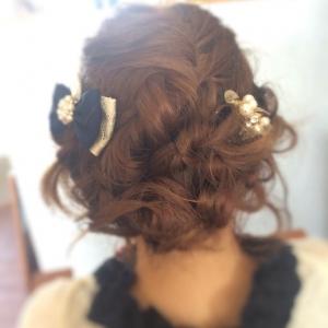 以前の記事: ゆるフワ結婚式お呼ばれヘアー