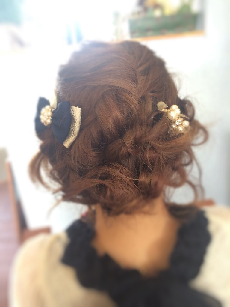 ゆるフワ結婚式お呼ばれヘアー