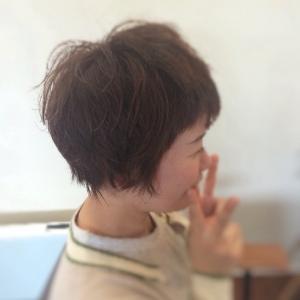 新しい記事: 簡単スタイリングでショートヘアーBefor After~編