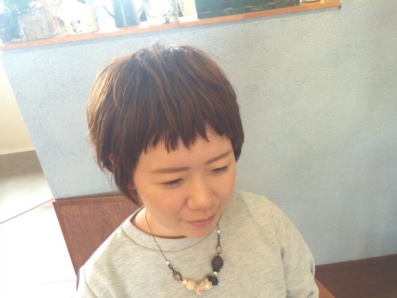 ポイントパーマや前髪カットで変わるんです〜