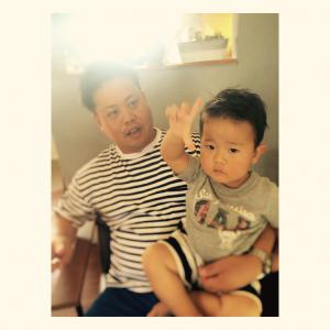 新しい記事: お父さんとカットビフォーアフター