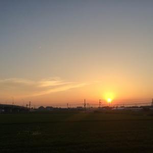 新しい記事: 夕日と、Rocca定休日のお知らせです〜
