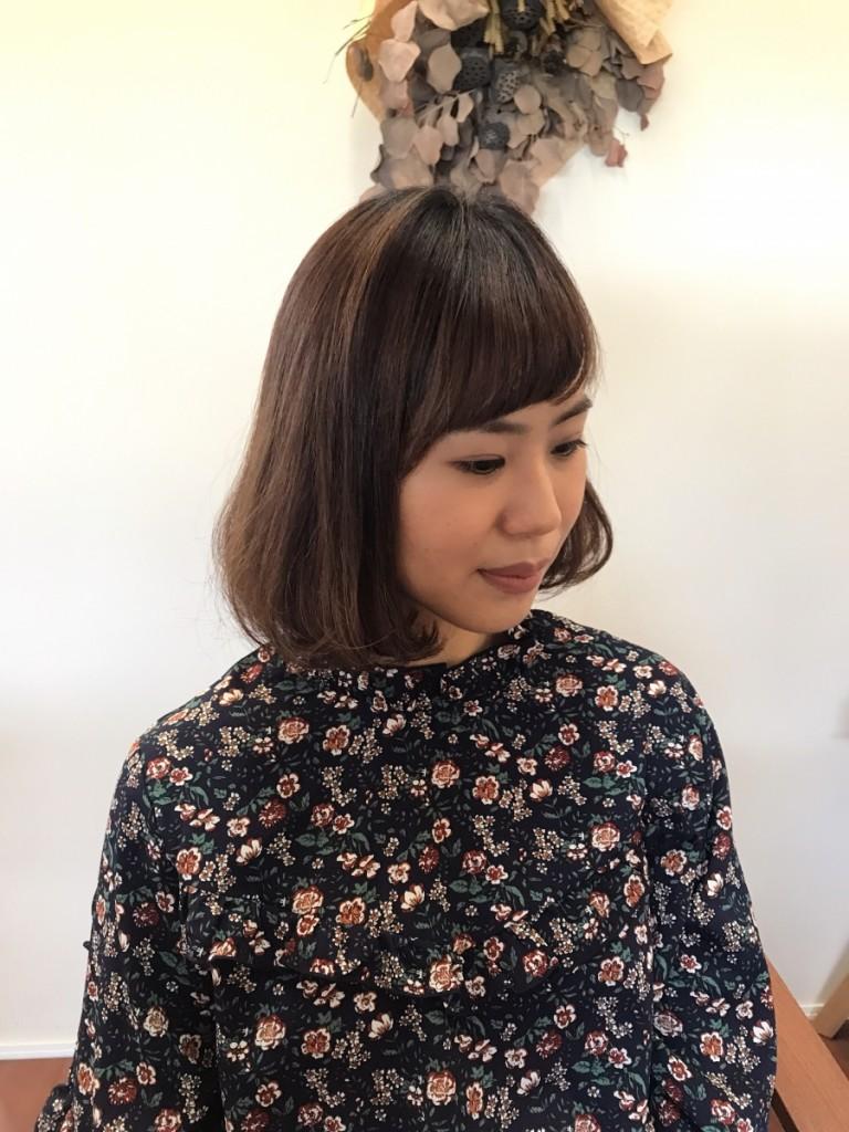 髪のうねりお悩み解消スタイル