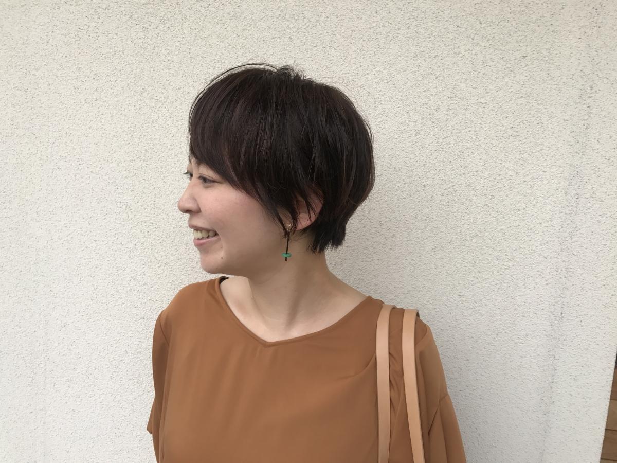 ショートスタイル ビフォ~アフター編