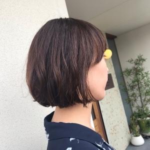 髪を切って〜