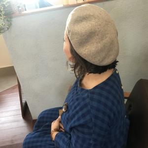 冬の帽子もいい感じに決まるスタイリング編