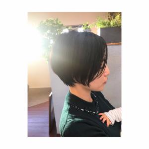 Roccaショートスタイルのビフォー・アフター編