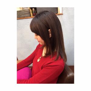 収まりの良い髪になれる施術〇〇