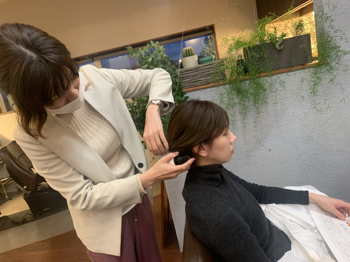 話題の〇〇ブラシ体験〜