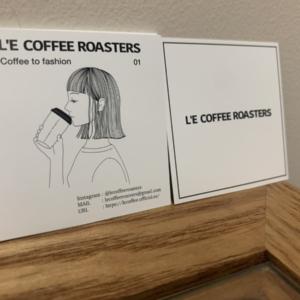 L'E COFFEE ROASTERSショップカード◎