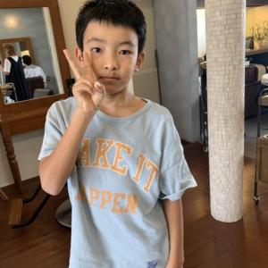 新しい記事: お子様カット〜◎と角質ケア